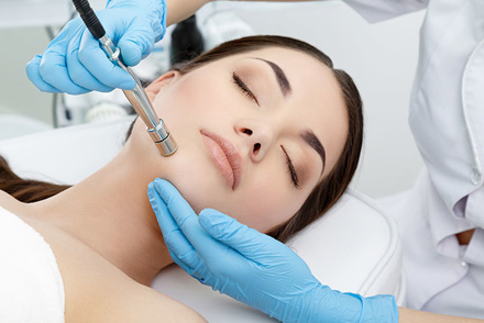 microdermabrasion—services